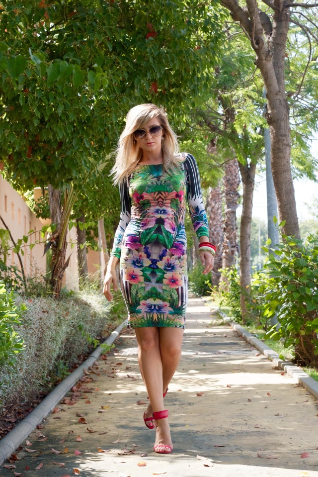 botánica floral topshop dress streestyle