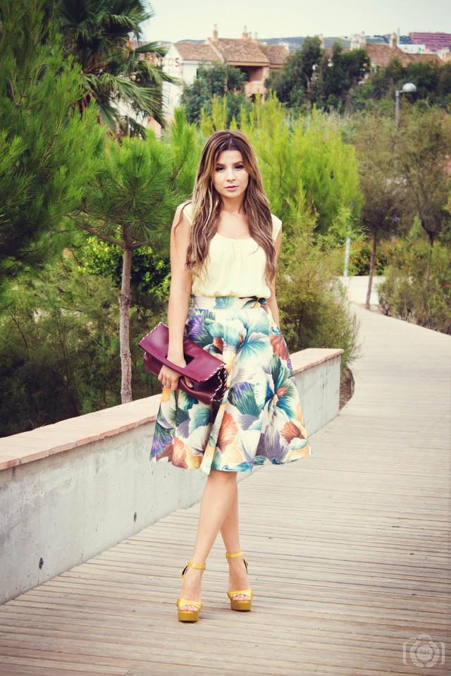 mbcos blog de moda midi skirt fashion blogger malaga