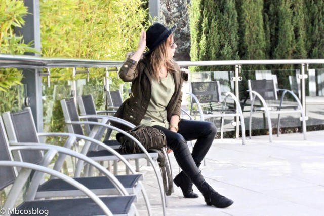 casual look green dress mbcos blog de moda spain fashion blogger