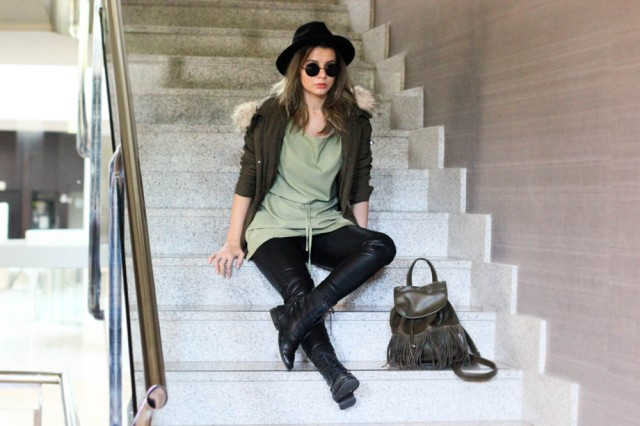 mbcos blog de moda malaga fashion blogger fedora green dress
