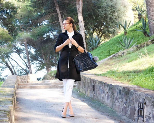 black and white look mbcos blog de moda malaga fashion blogger