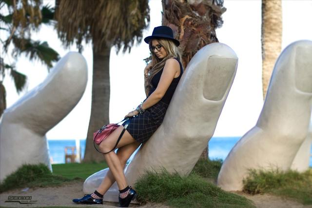 black look fuengirola malaga mbos blog de moda spanish blogger