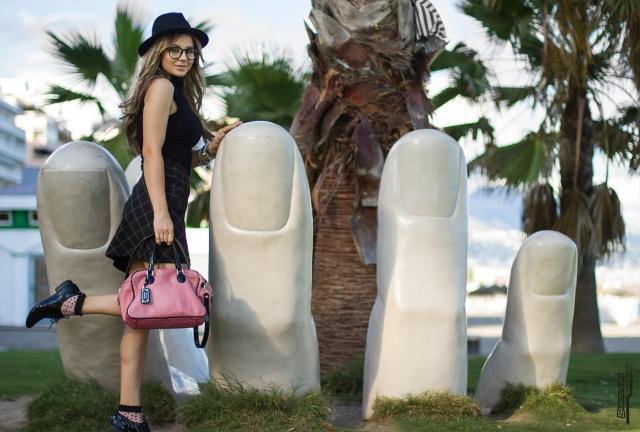 mbcos blog de moda fuengirola malaga fashion blogger all black office