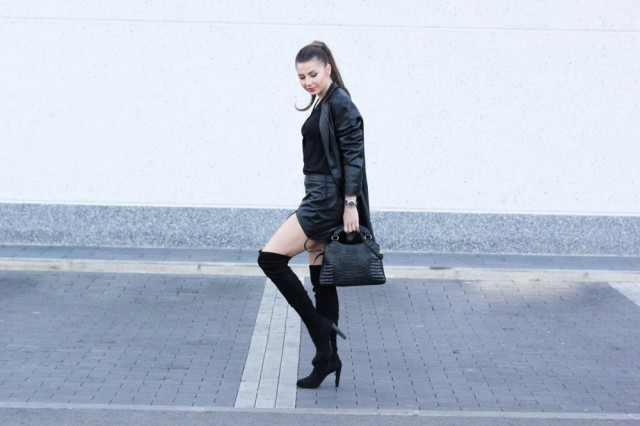 Mbcos blog de moda Malaga spanish fashion blogger streetstyle black