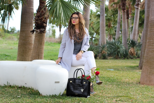 Mbcos blog de moda Malaga spanish fashion blogger How to wear serenity color in 2016 street style