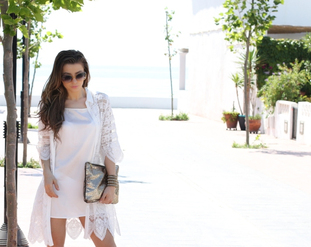 Mbcos blog de moda Malaga spanish blogger whatsappmode moda mujer espana white and gold costa del sol