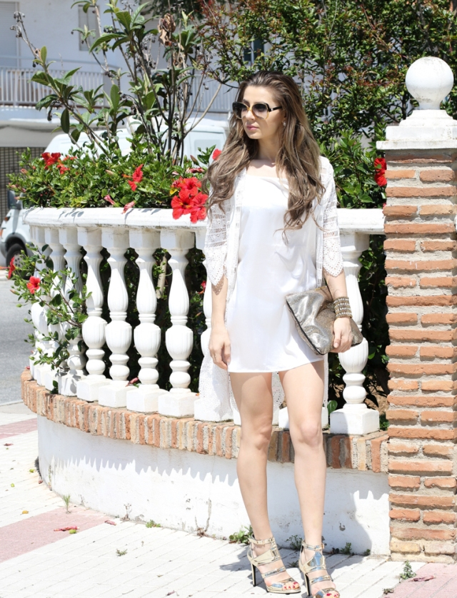 Mbcos blog de moda Malaga spanish blogger whatsappmode moda mujer espana white and gold