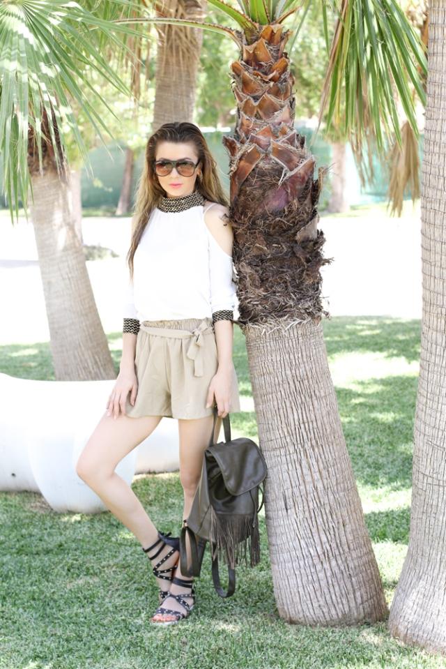 Mbcos blog de moda Malaga streetstyle fashion spanish blogger nature dress link fashion  best fashion looks