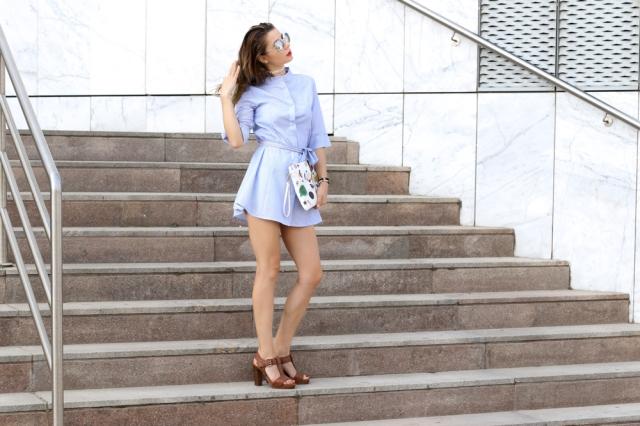 Mbcos blog de moda Malaga spanish fashion blogger moda malaga mujer 2016 dress shiirt elvio zanon