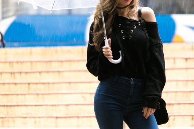 Mbcos fashin blogger inspirational looks december 2016 rainy photography black malaga blogger top bloggers