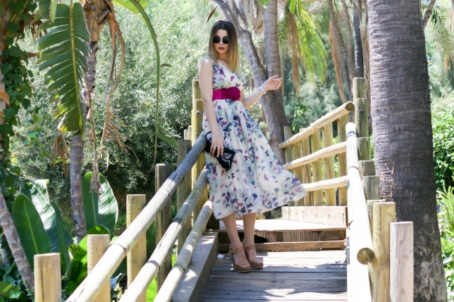 mbcos fashion blogger malaga spanishbloggers looks de dia looks diario wedges floral dress lookbook how to wear floral dress moda malaga